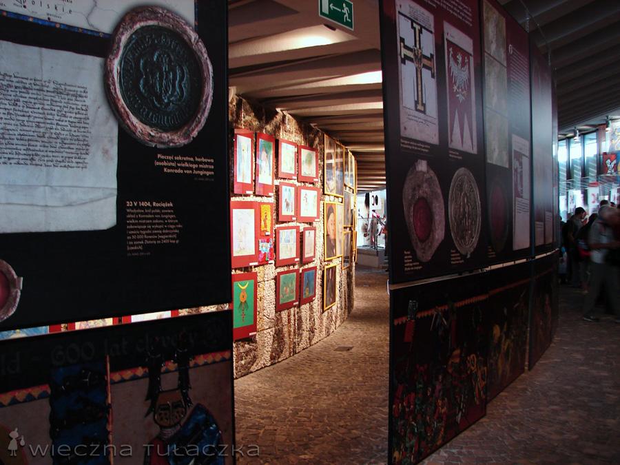 Wnętrze Muzeum Grunwaldzkiego