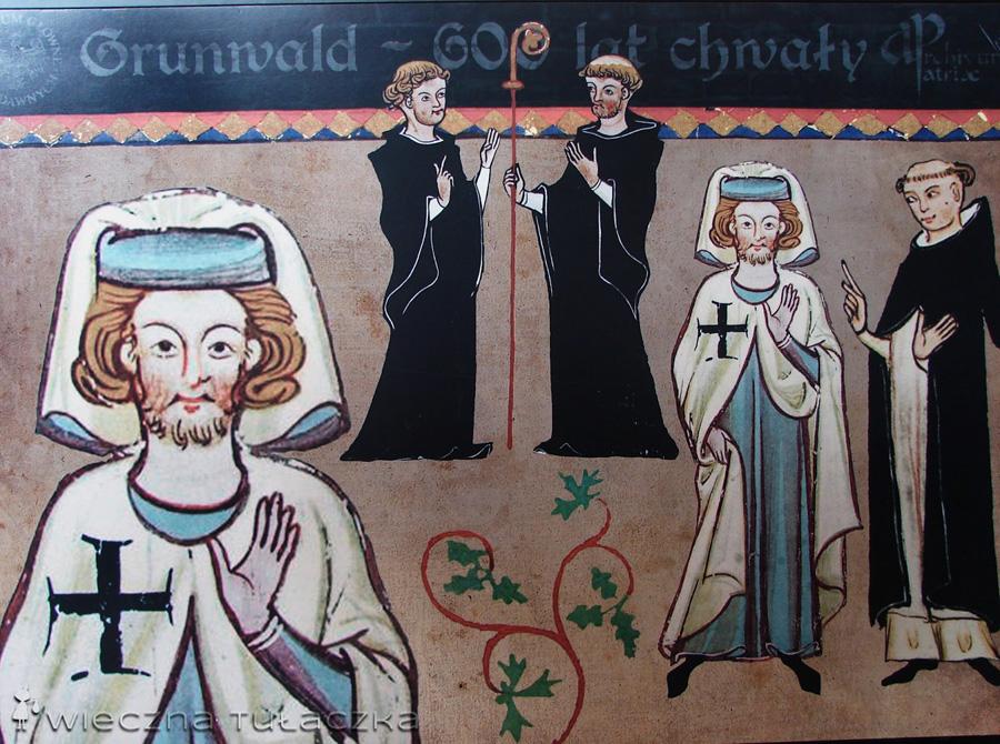 Plansza w Muzeum Grunwaldzkim