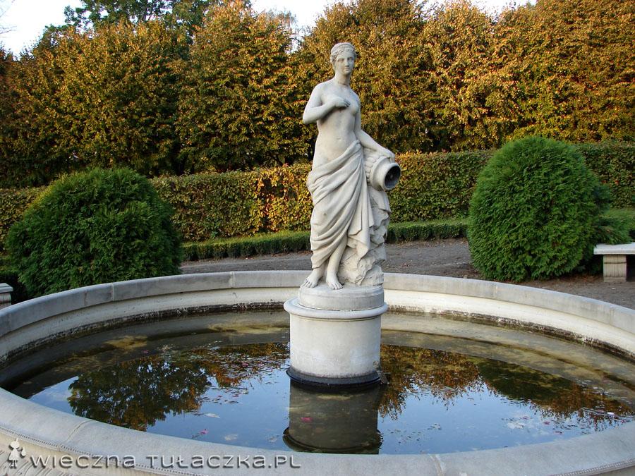 Posąg w Parku Ostromecko