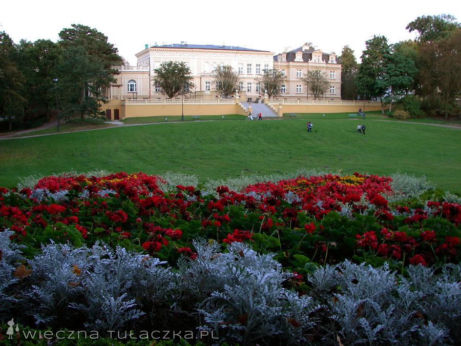 Pałac Ostromecko od strony ogrodów