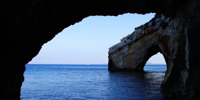 Zakynthos – Przylądek Skinari i Błękitne Groty