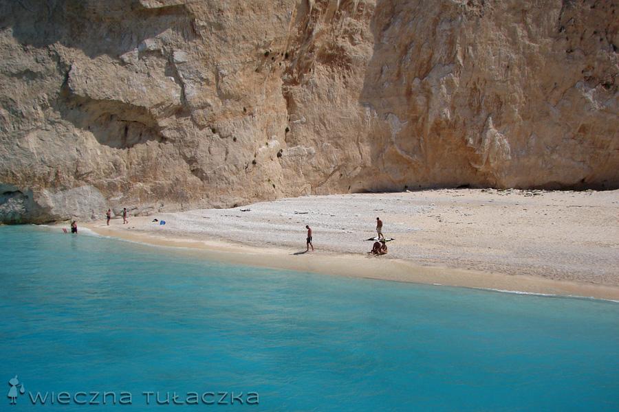 plaża w Zatoce Wraku