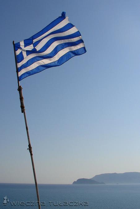 flaga Grecji