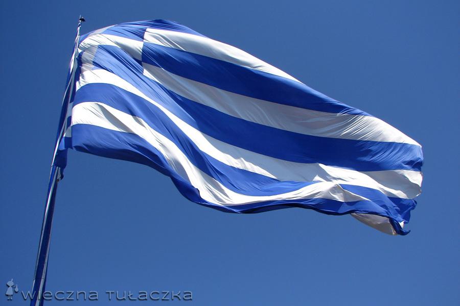 największa flaga Grecji