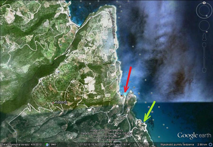 dwie Zatoki Xigia