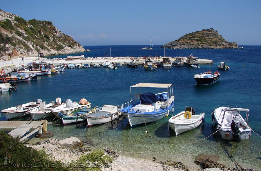 Łódki w Agios Nikolaos