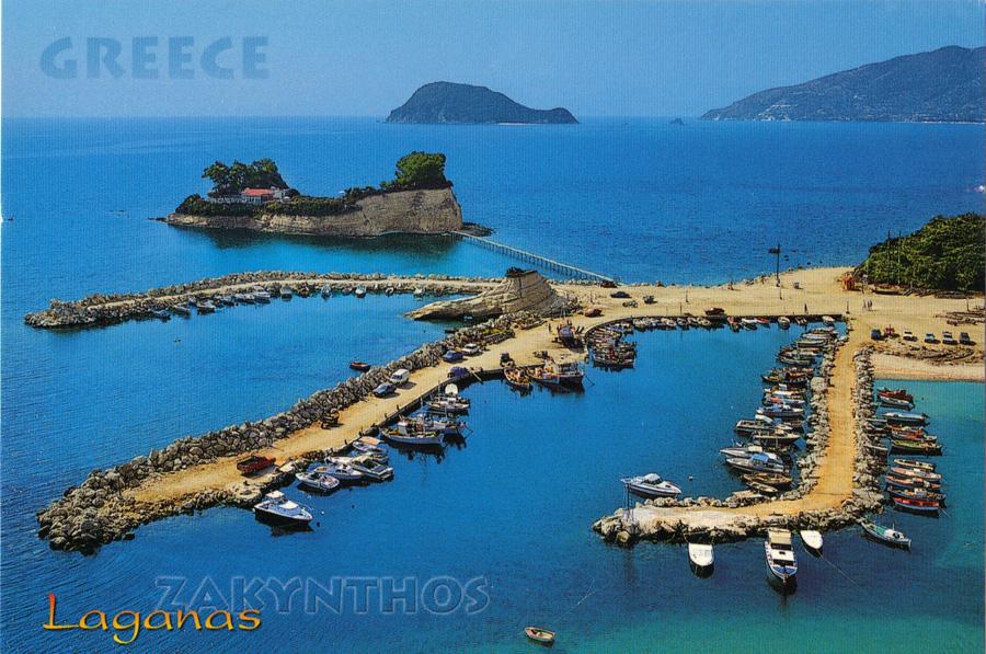 Agios Sostis z lotu ptaka