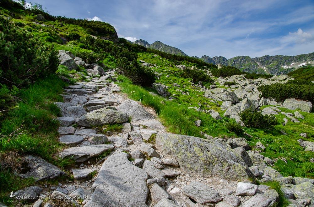 Zielony szlak przez Wielką Siklawę