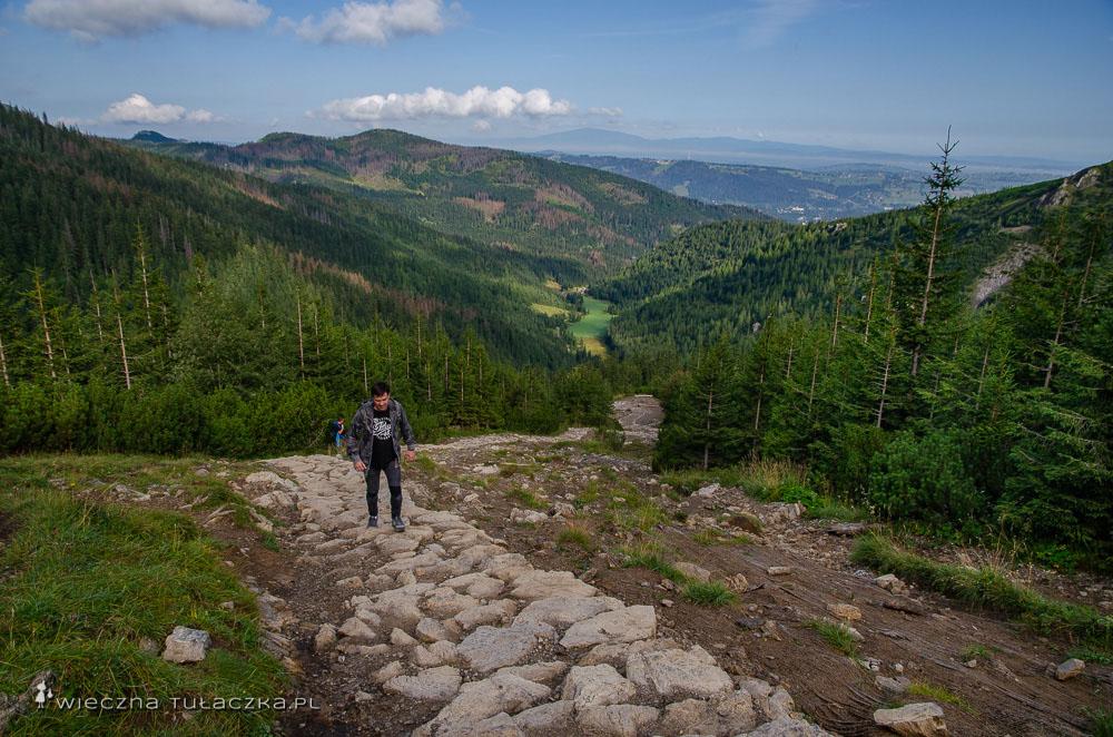 Szlak przez Jaworzynkę na Halę Gąsienicową
