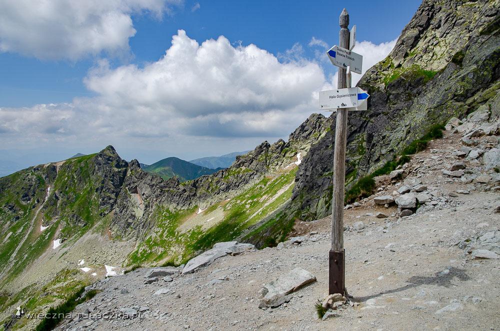 Zawrat w Tatrach