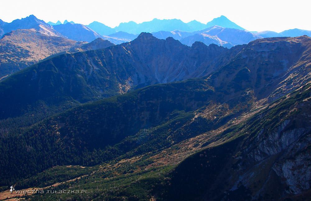 Dolina Kondratowa z Giewontu