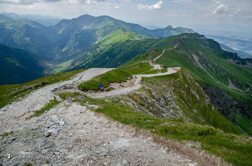 Szlak na Świnicką Przełęcz