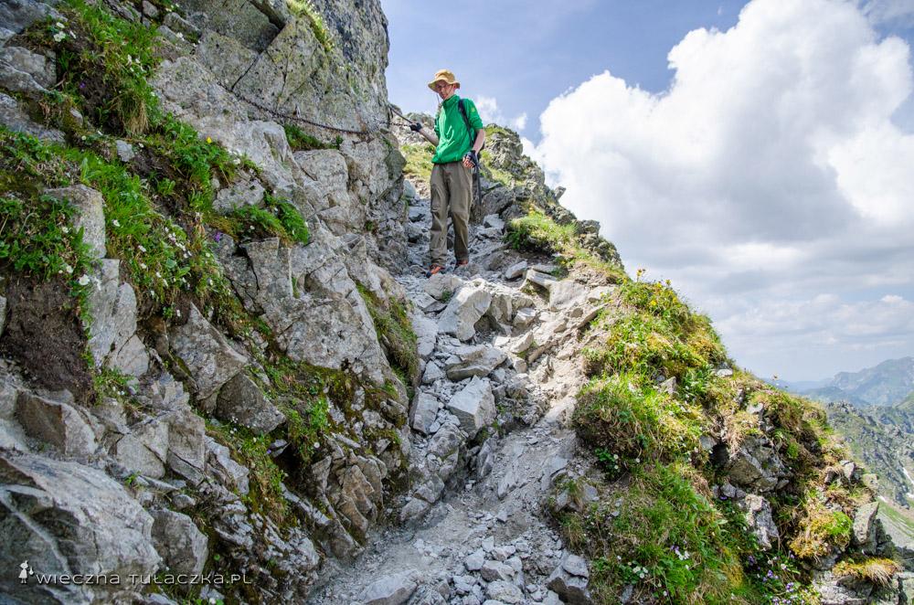 Szlak na Szpiglasową Przełęcz