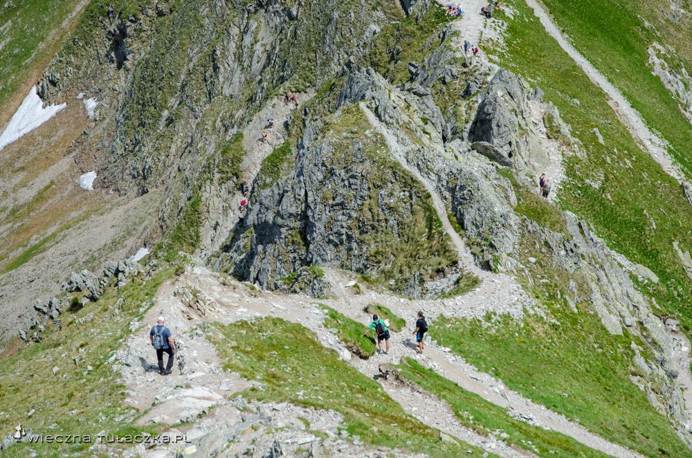 Szlak na Szpiglasowy Wierch