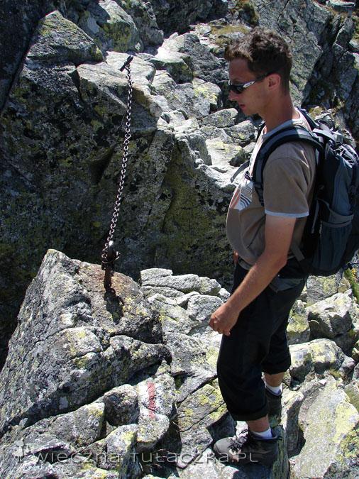 szczelinka w Granatach