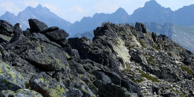 ORLA PERĆ: opis szlaku na odcinku Granaty