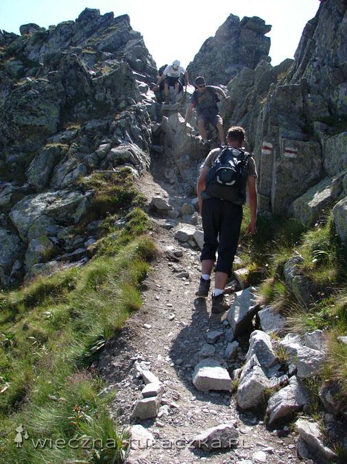 Zejście z Zadniego Granatu