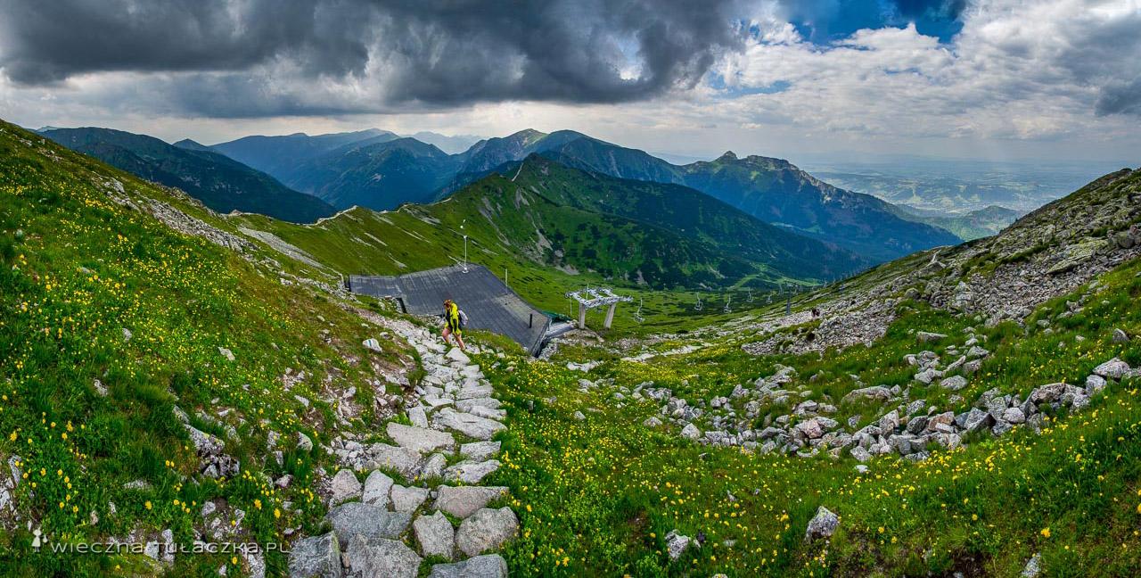 Kasprowy Wierch, panorama