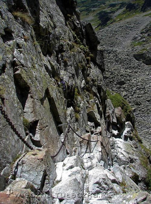 Zejście z Koziej Przełęczy.