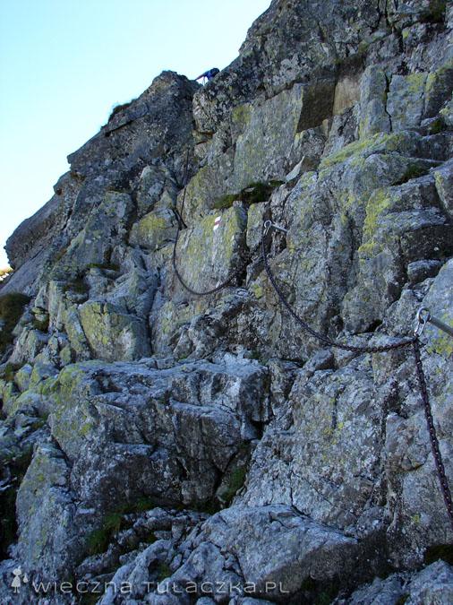 Szlak Orlej Perci na Zamarłej Turni