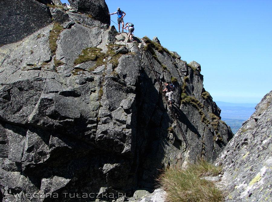 Drabinka nad Kozią Przełęczą
