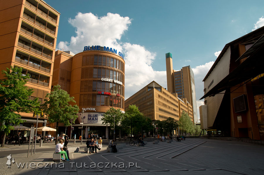 Kompleks Daimler-Chrysler od strony Marlene Dietrich Platz