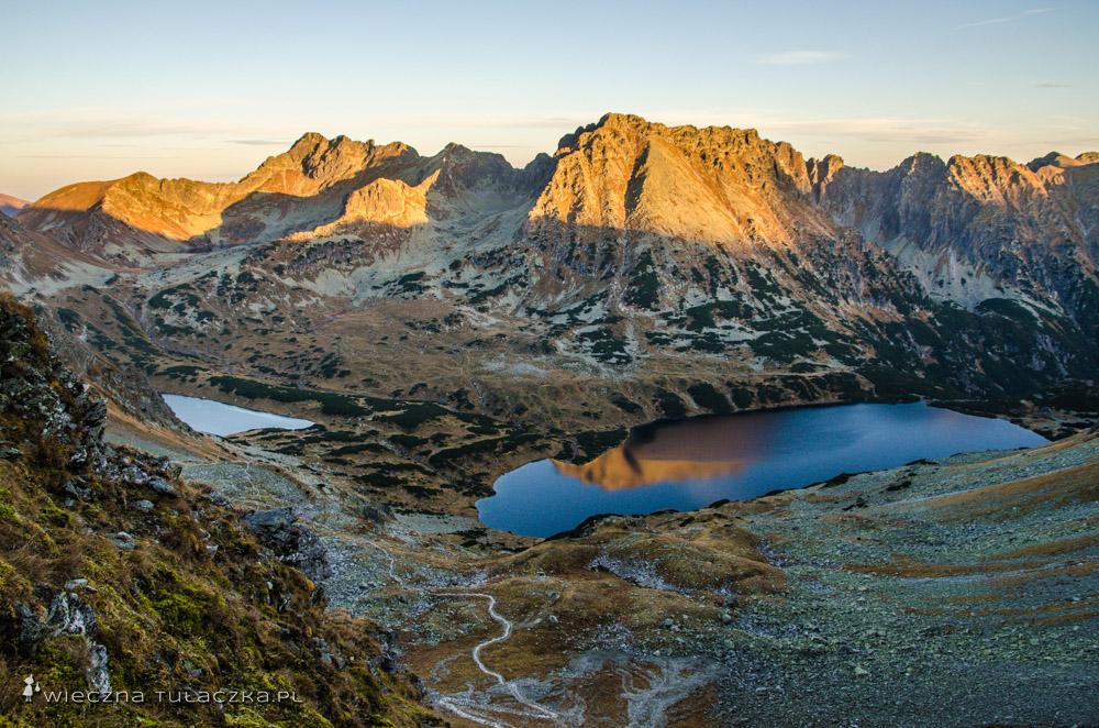 Dolina Pięciu Stawów ze Szpiglasowej Przełęczy
