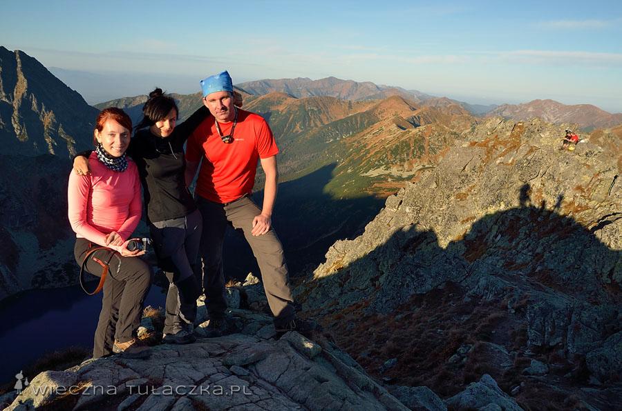 Admini na szczycie, od lewej: Tatry dla Średniozaawansowanych, Wieczna Tułaczka i Góry bez Granic :)