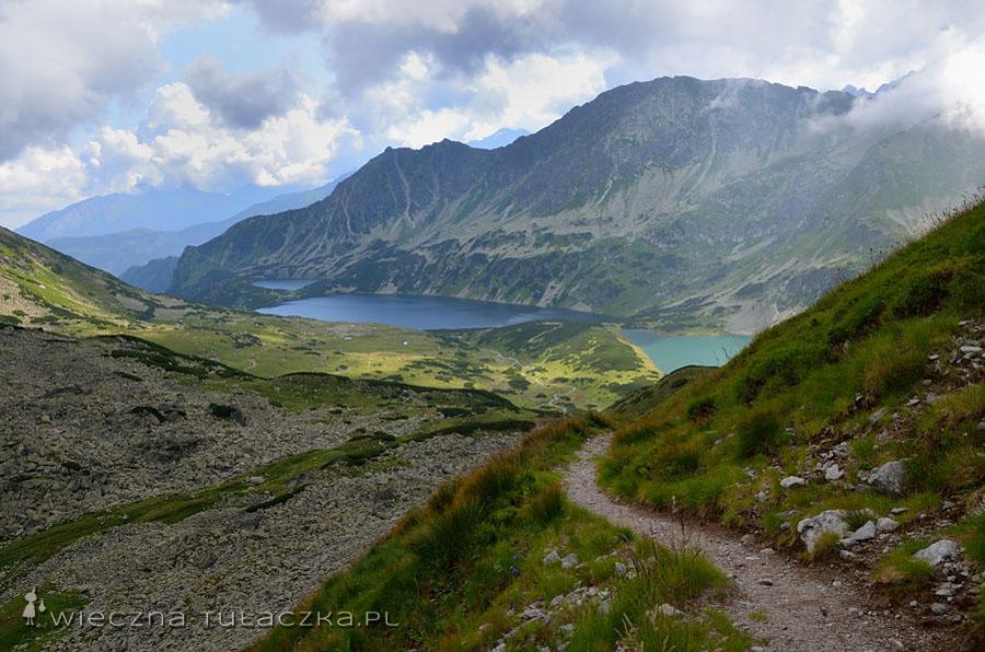 Dolina Pięciu Stawów z Gładkiej Przełęczy