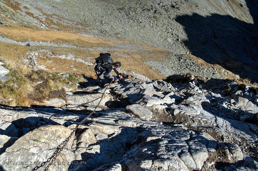 Jagnięcy Szczyt opis szlaku