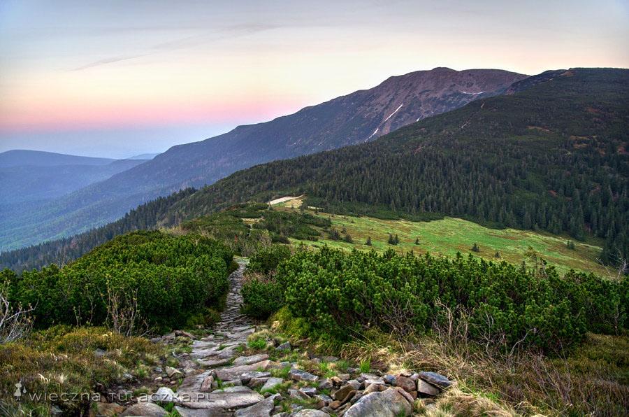 Przełęcz Brona i Babia Góra