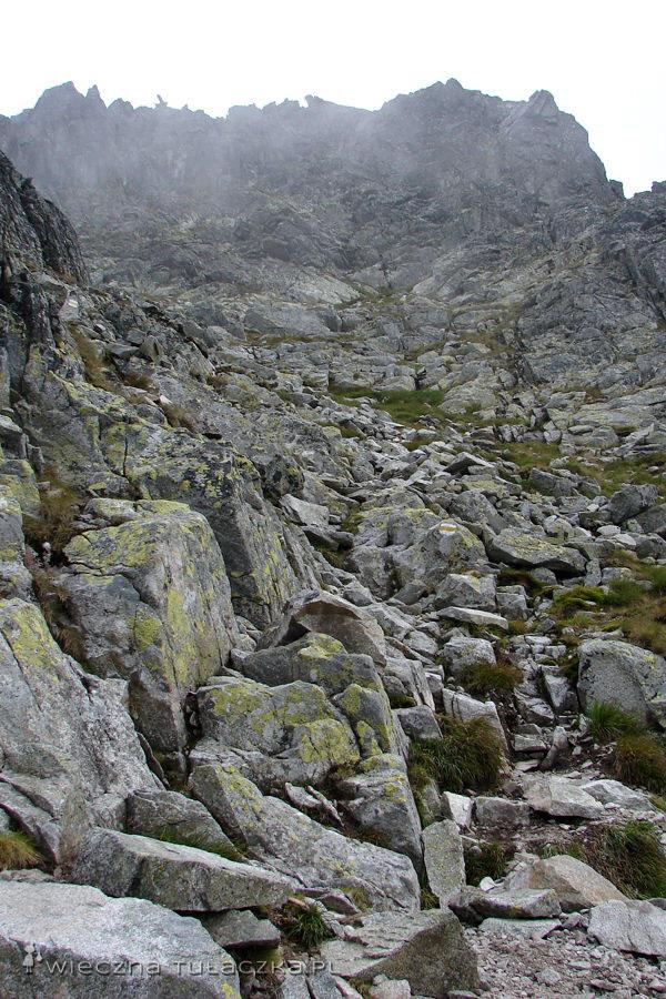 Szlak na Skrajny Granat