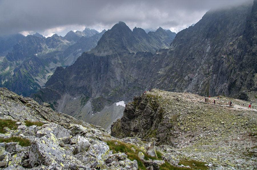 Przełęcz Waga i Ganek