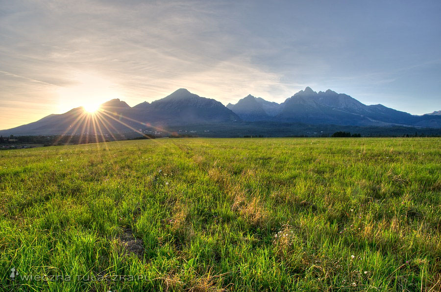 Nowa Leśna, panorama na Tatry