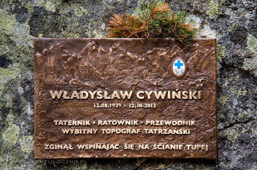Władysław Cywiński, tablica pamiatkowa