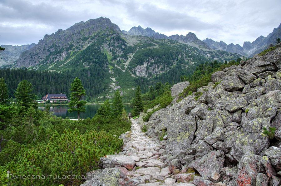 Szlak do Popradzkiego Stawu
