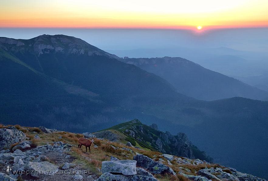 Tatry Bielskie wschó słońca
