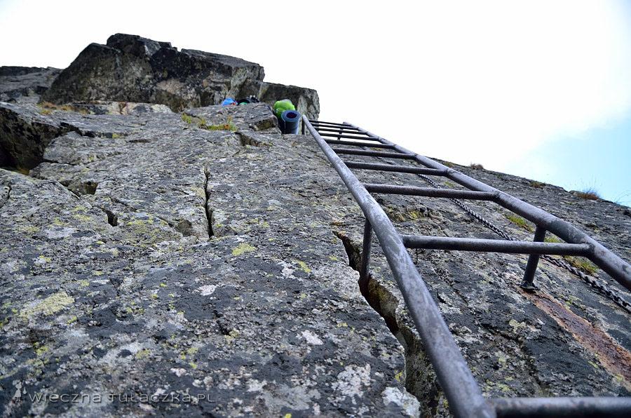 Drabinka pod Baranią Przełęczą