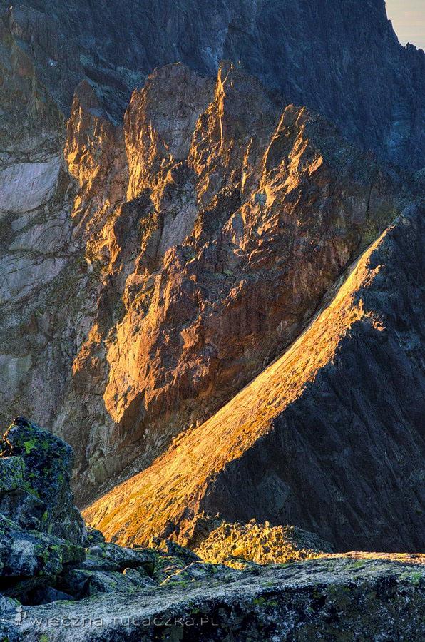 Baranie Rogi - widok na i Spiską Grzędę