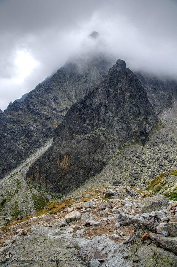 Pośrednia Grań i Żółta Ściana - Dolina Pięciu Stawów Spiskich
