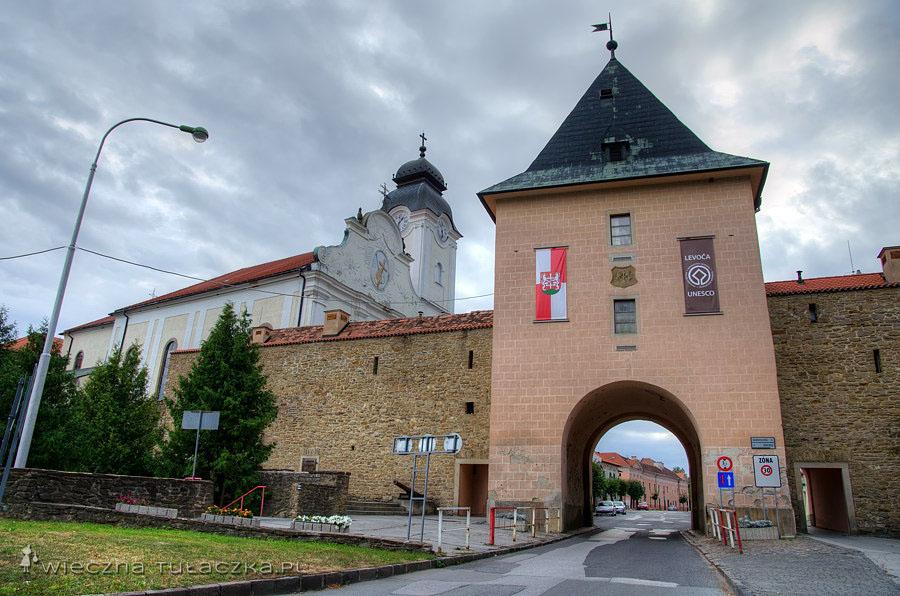 Brama Koszycka, Lewocza