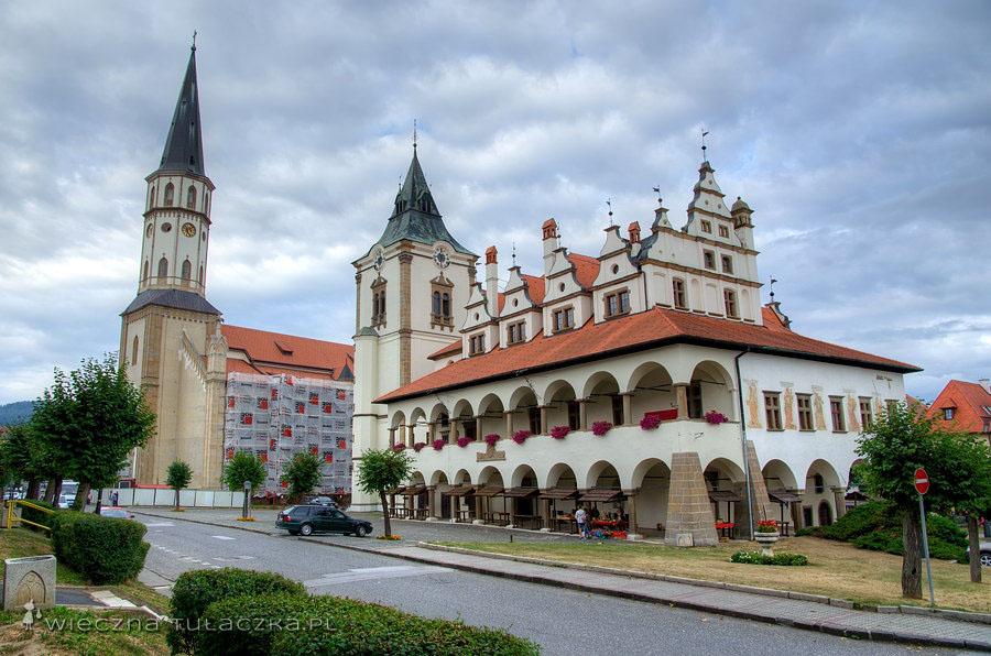 Kościół św. Jakuba oraz ratusz, Lewocza