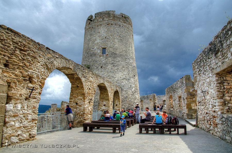 Zamek Spiski - wieża