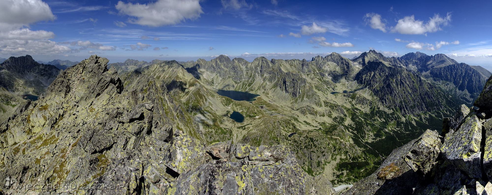 Szatan - panorama od Furkotu po Tępą