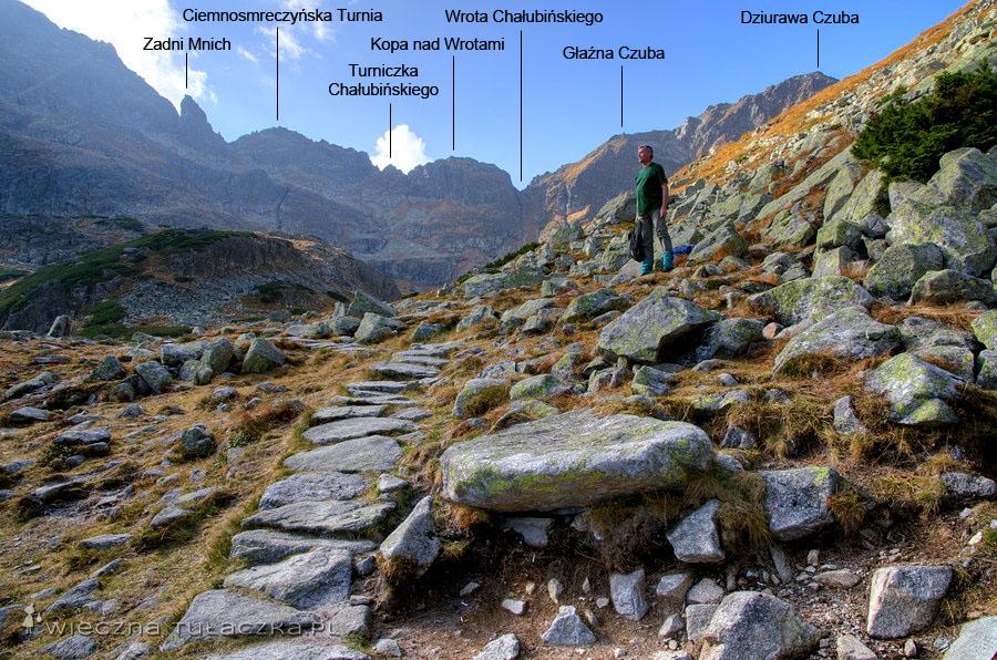 Wrota Chałubińskiego - opis szlaku