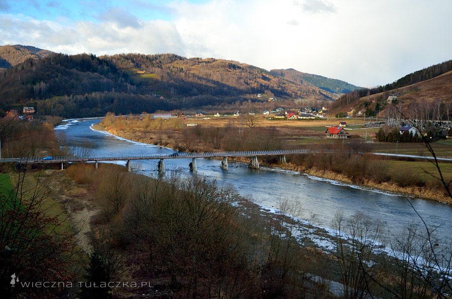Dunajec, Beskid Sądecki