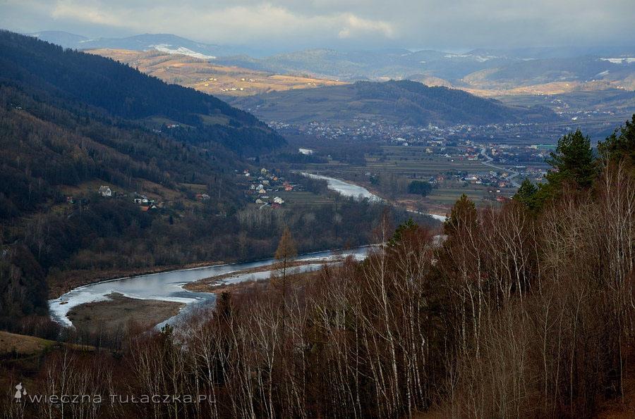 Dolina Dunajca, Beskid Sądecki