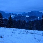 PIENINY: Wysoka zimą (z Jaworek przez Homole oraz grzbiet Małych Pienin do Szczawnicy)