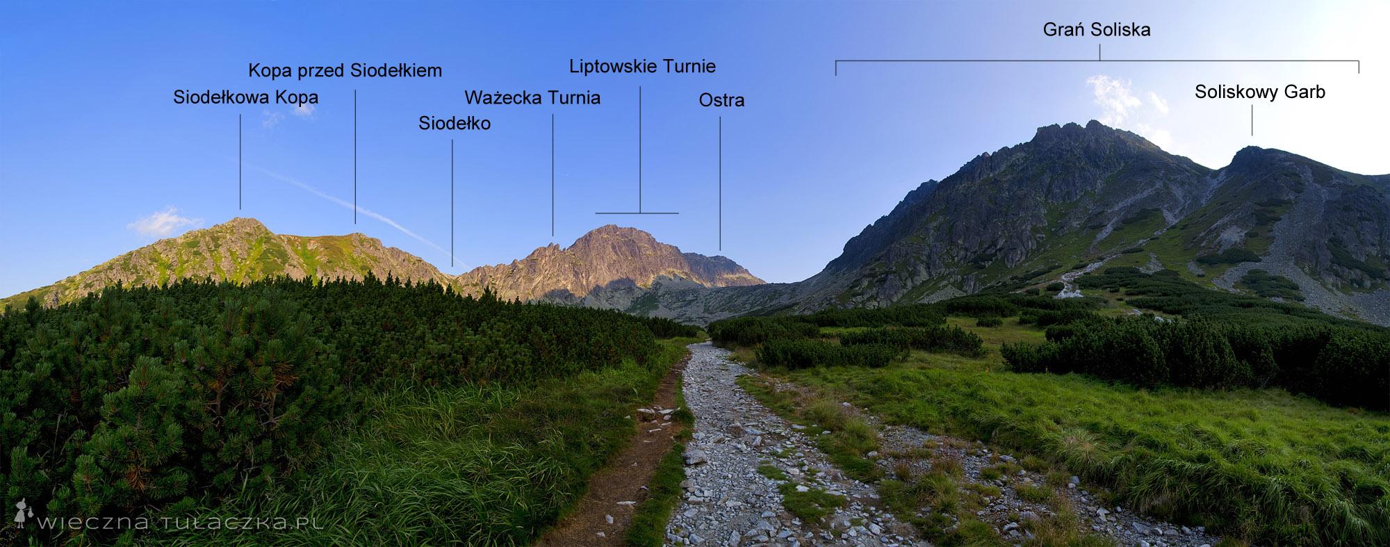Dolina Furkotna - opis szlaku
