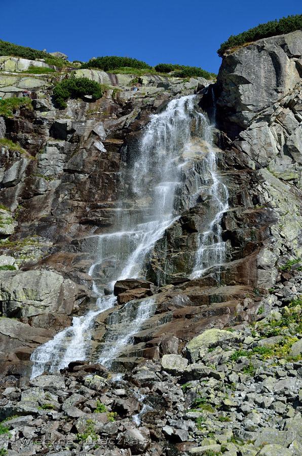 Wodospad Skok, Tatry
